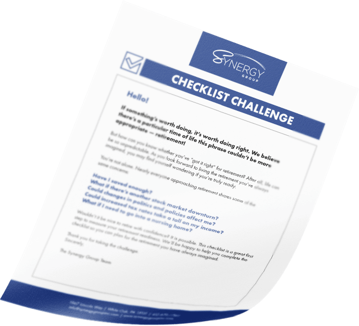 synergy-checklist-challenge